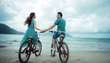 couple-love-hd-wallpaper-sea-bicycle-photography-landscape-wedding